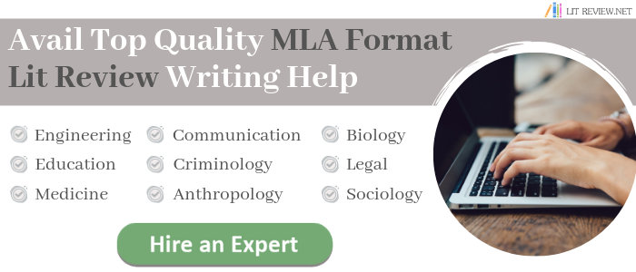 mla literature review editing