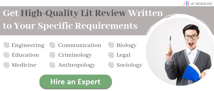 professional literature review outlines