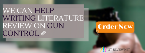 literature review on gun control writing help