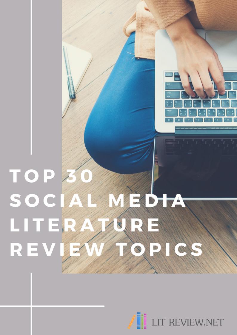 social media literature review topics