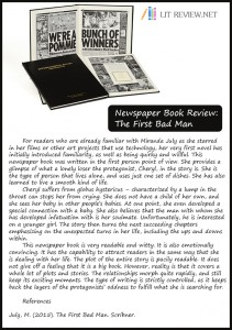 newspaper book review