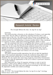 research article review