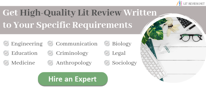 writing literature review structure in line with requirements