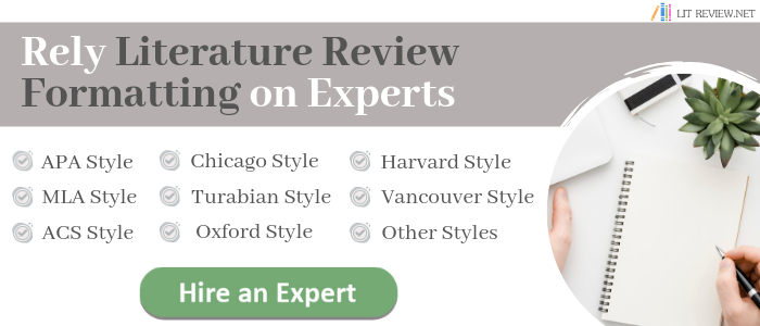 sample of a literature review online