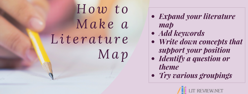 tips on how to make a literature map