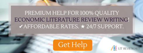 help writing economic literature review