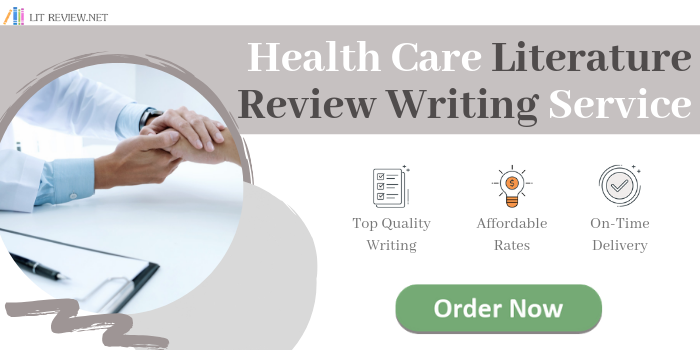health care literature review writing service