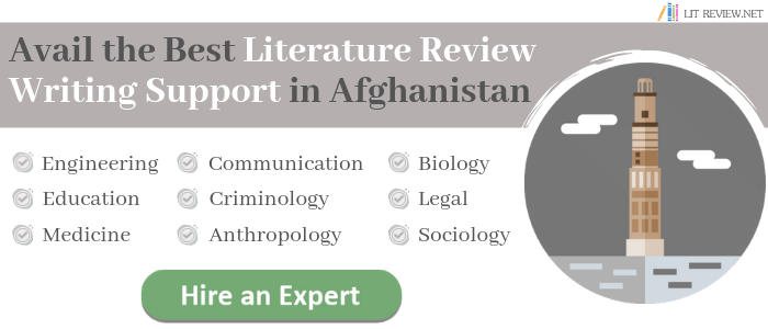 avail kabul literature review writing services