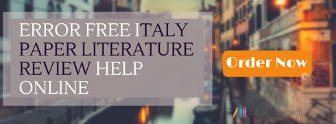 best literature review in thesis italy