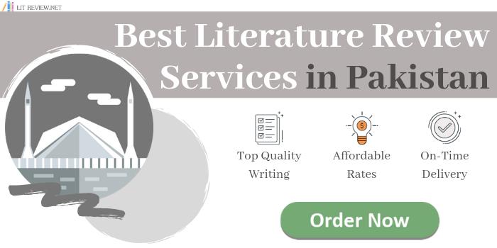 best pakistan literature review service