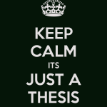 thesis keep calm