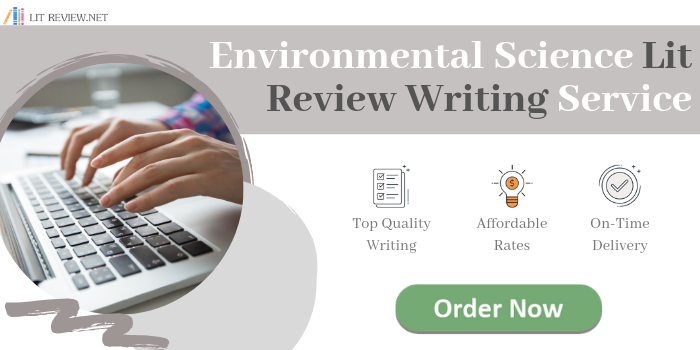environmental science literature review writing service
