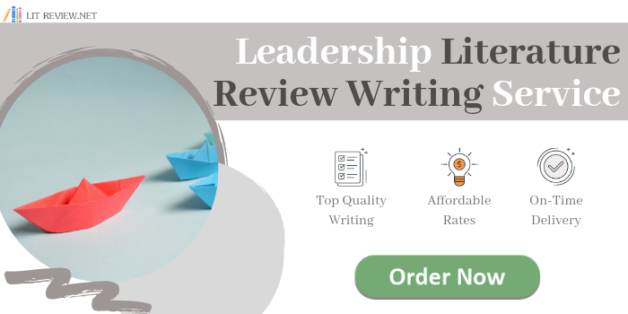 leadership literature review writing service