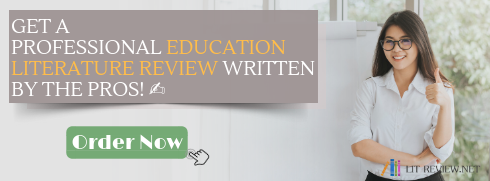 literature review on education writing service