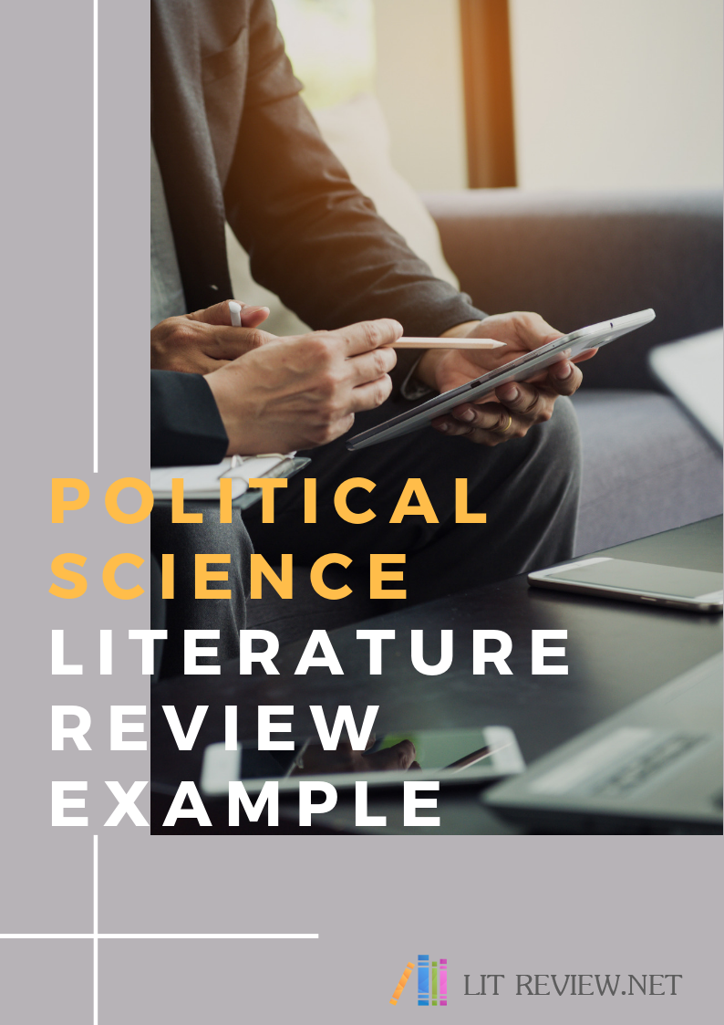 professional political science literature review example